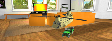 Thumbnail of RC Helicopter Flight Simulator